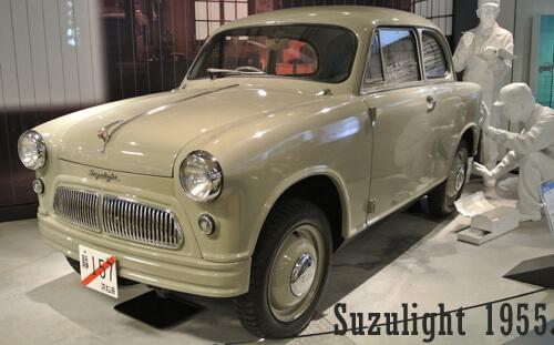 Mobil-Pertama-Suzuki-Suzulight-1955