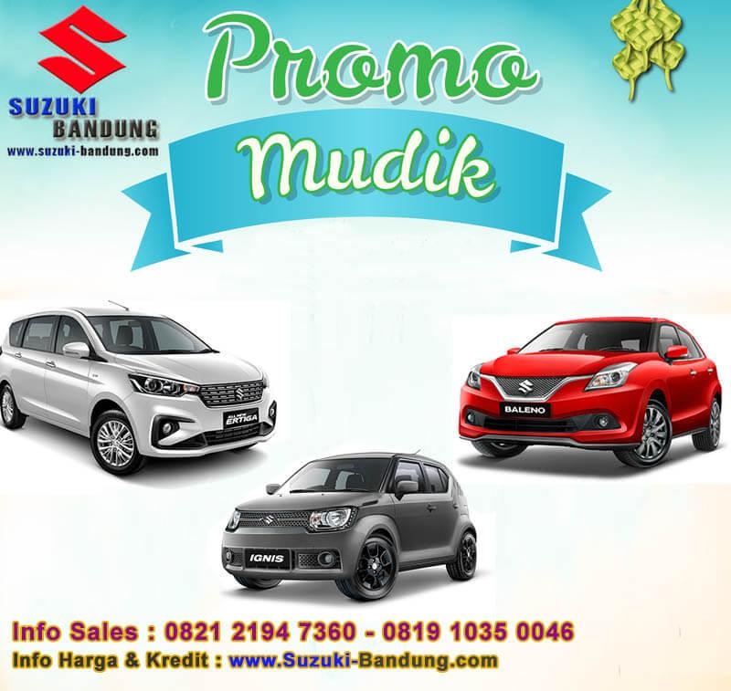 Promo Mudik Lebaran Suzuki Bandung 2018