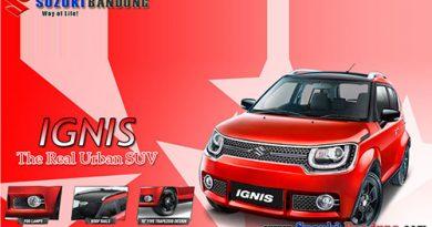 Spesifikasi dan Harga Suzuki Ignis 2018