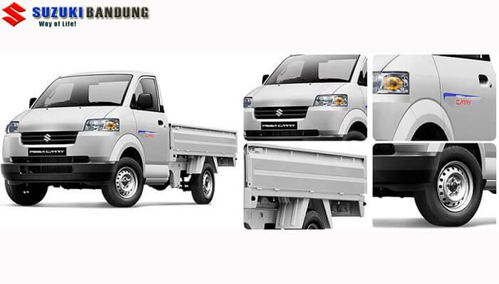 Eksterior Suzuki Mega Carry Pick Up