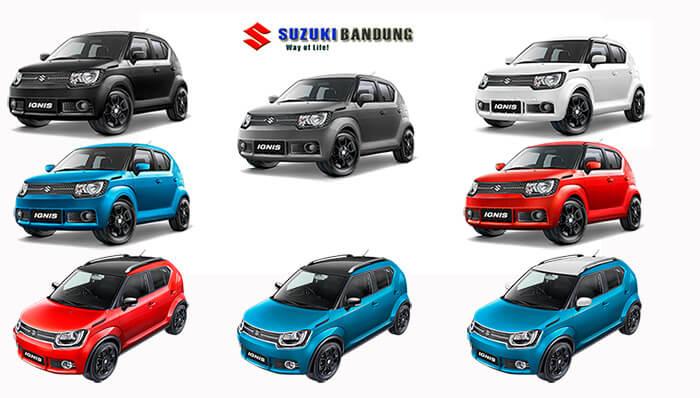 Pilihan Warna Suzuki Ignis 2018