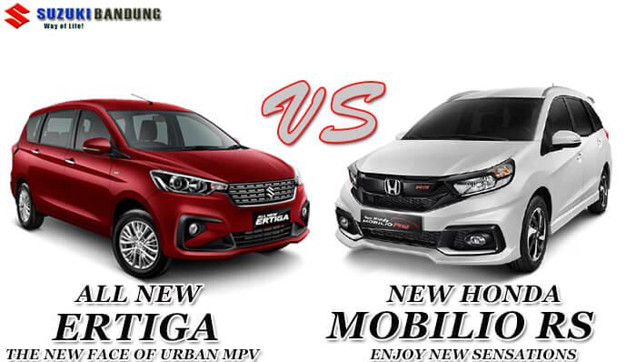 Komparasi Suzuki Ertiga vs Honda Mobilio