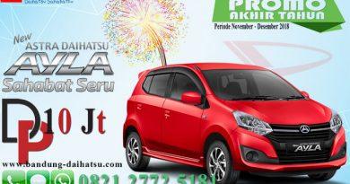 Promo Daihatsu Ayla Spesial Akhir Tahun