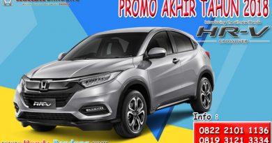 Promo Akhir Tahun 2018 Honda HR-V Bandung