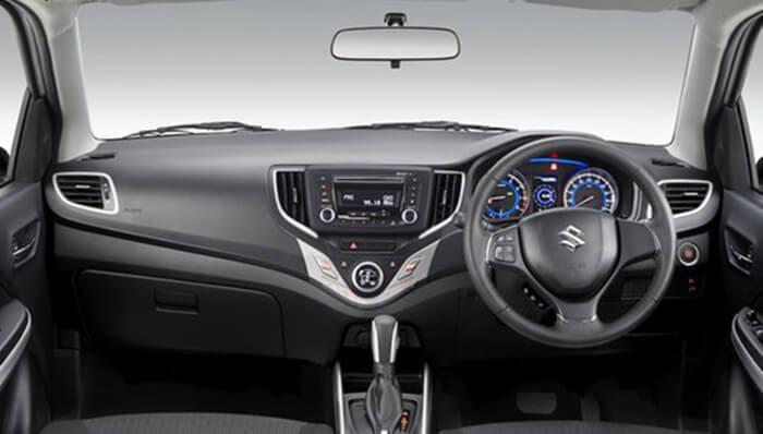 Dashboard Suzuki Baleno