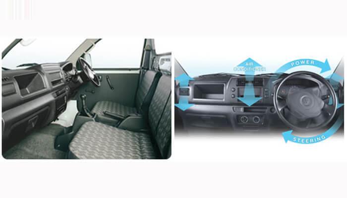 Interior Suzuki Mega Carry Pick Up