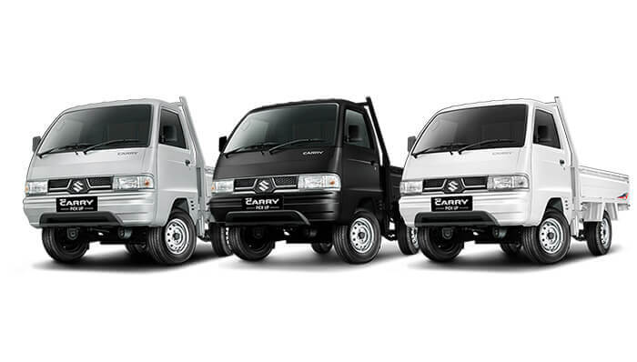 Pilihan warna Suzuki Carry Pick Up