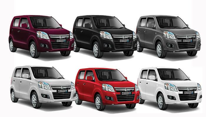 Pilihan Warna Karimun Wagon R 2018