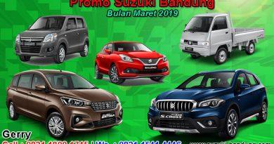 Promo Suzuki Bandung Bulan Maret 2019