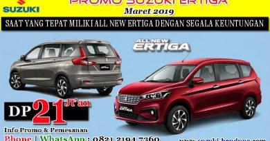 Promo Suzuki Ertiga bulan Maret 2019