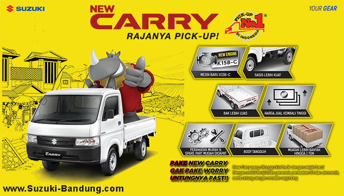 Harga New Carry Pick Up 2020