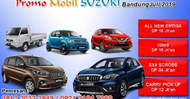 Promo Mobil Suzuki Bandung Juli 2019