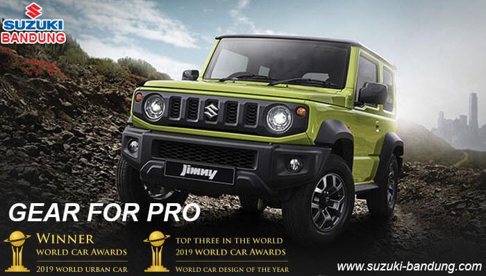 Spesifikasi dan Harga Suzuki Jimny 2019