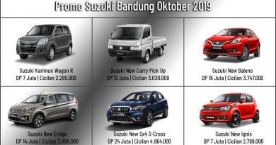 Promo Suzuki Bandung Oktober 2019