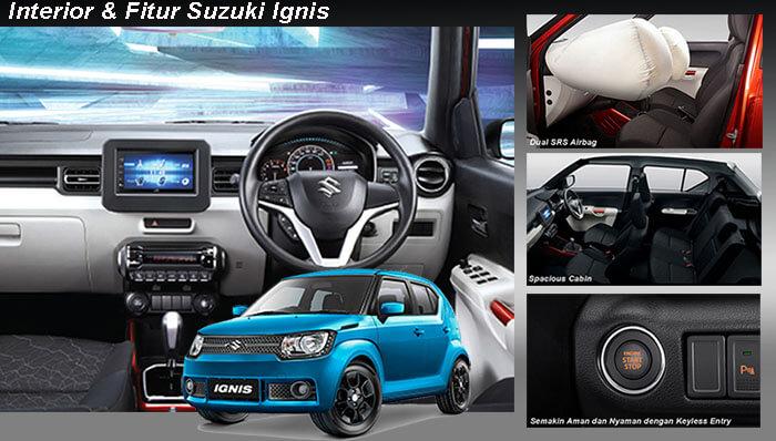Interior dan Fitur Suzuki Ignis